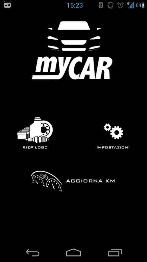 MyCar- screenshot