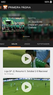 SAPO Desporto- screenshot thumbnail