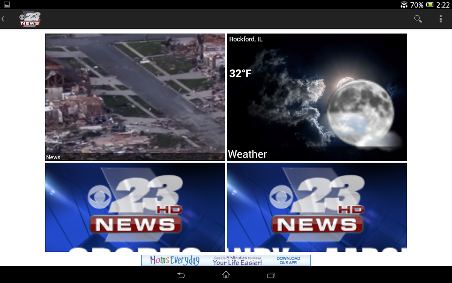 23 News to Go - screenshot