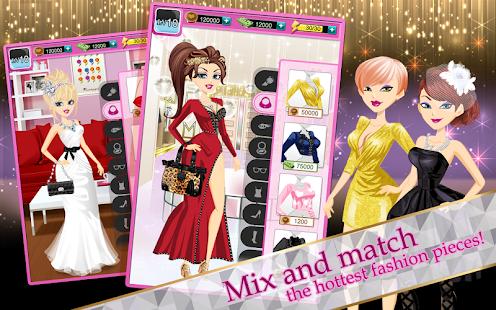 game fashion girl hollywood star apk for windows phone