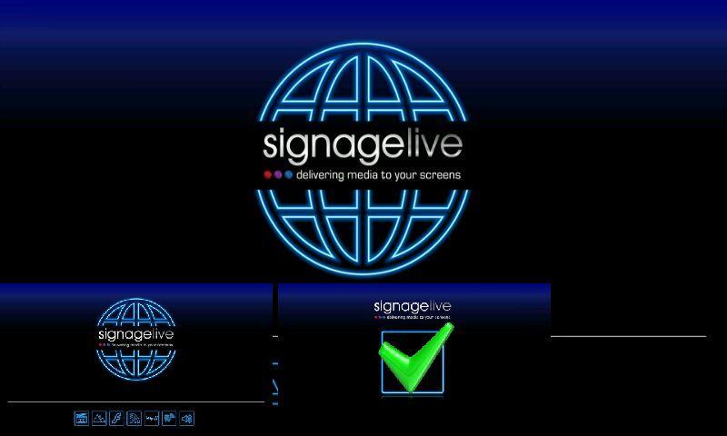 Signagelive - screenshot