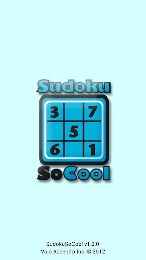 SudokuSoCool