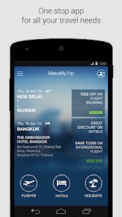 MakeMyTrip, Flights Hotels Bus - screenshot thumbnail