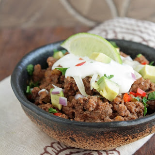 10 Minute Low Carb Chili.