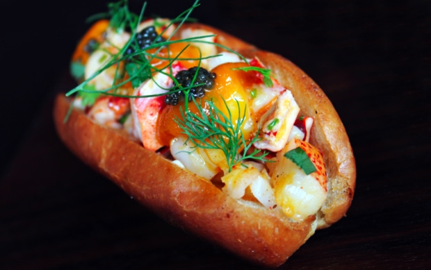 Manon'S Off-the-Menu Lobster Roll with Uni and Caviar Recipe