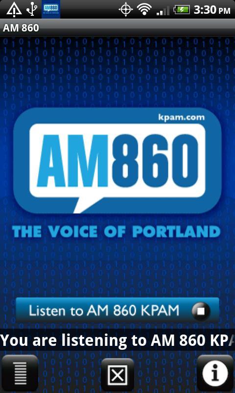 AM 860 KPAM- screenshot