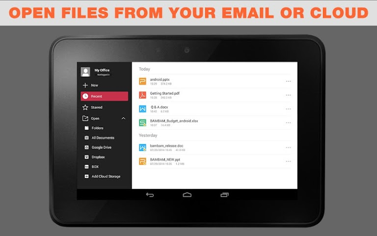 android WPS Office + PDF Screenshot 11