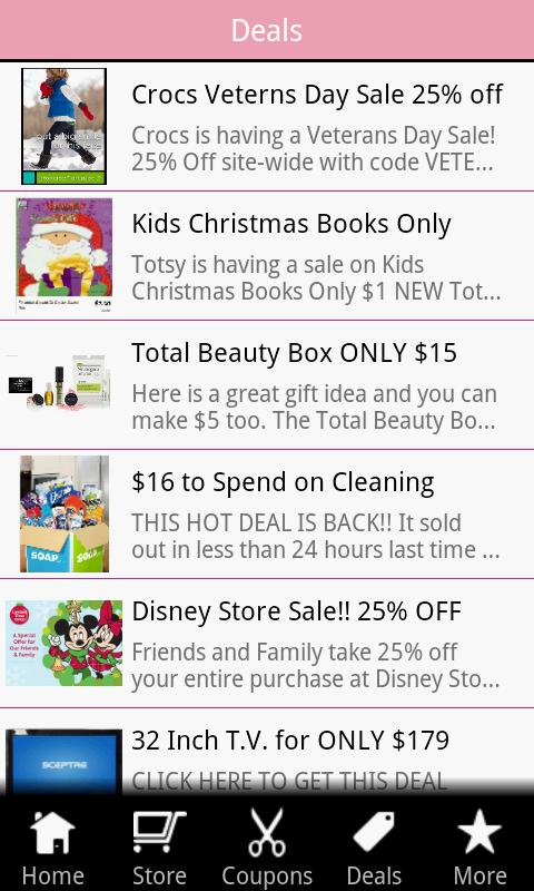 Go Momma Coupons - screenshot