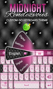 Elegant Pink Heart Keyboard ♥- screenshot thumbnail