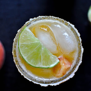 Juicy Peach Margaritas.