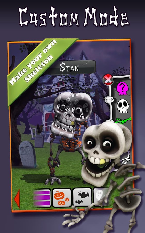 Talking Skeleton !!!- screenshot