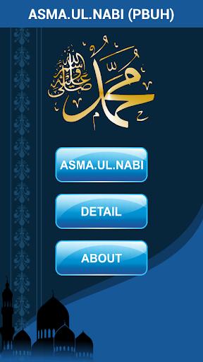 Asma ul Nabi Muhammad Names