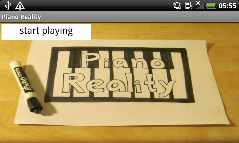 (Augmented) Piano Reality - screenshot