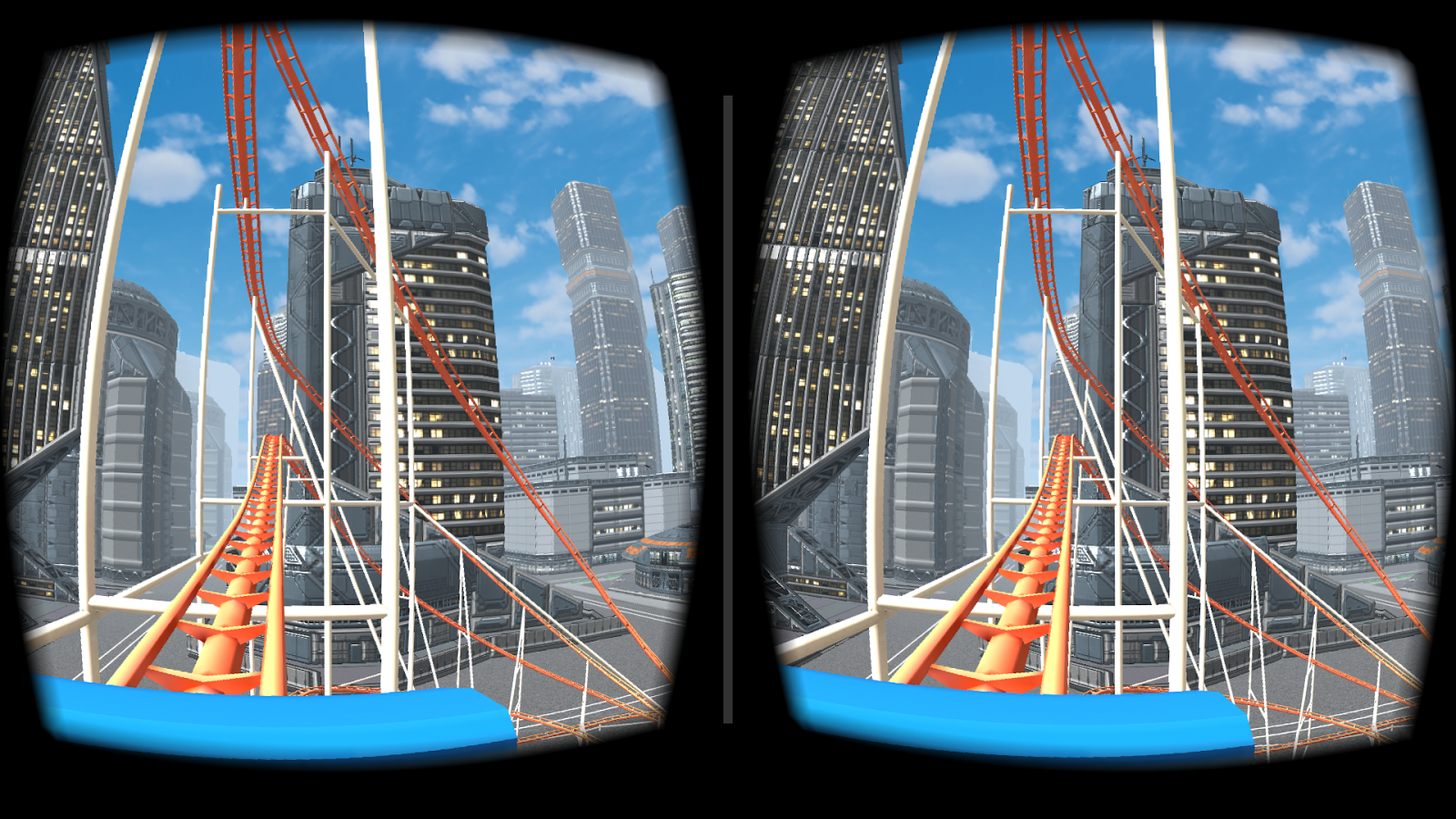 VR Roller Coaster- screenshot