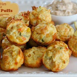 Sweet Corn Puffs Recipes.