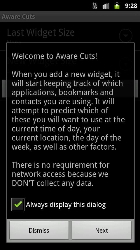 Aware Cuts - screenshot