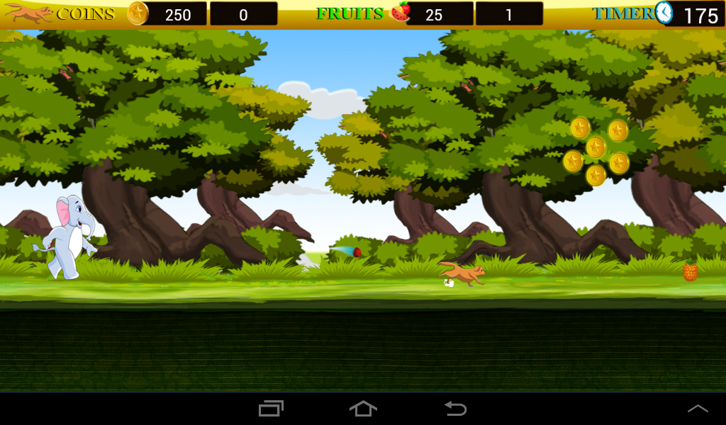 Dog Jungle Run- screenshot