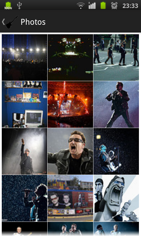 U2 fan - screenshot