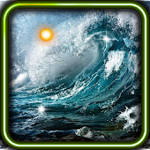 Sea Storm live wallpaper