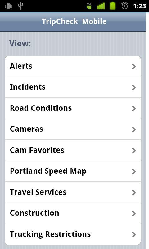 Oregon Trip Checker Free- screenshot