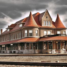 Durand Union Station by Nicole Baumchen - Buildings & Architecture Public & Historical