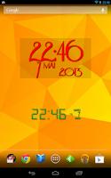 Screenshot of Easy Clock Widget Lite