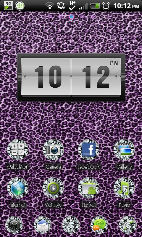 THEME|ZebraDiamonds - screenshot