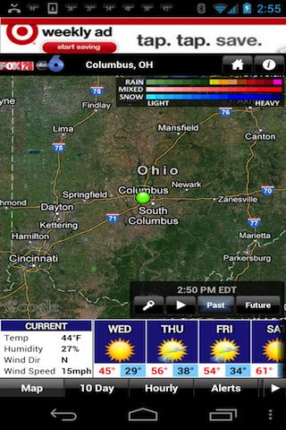 OHIO WX - screenshot