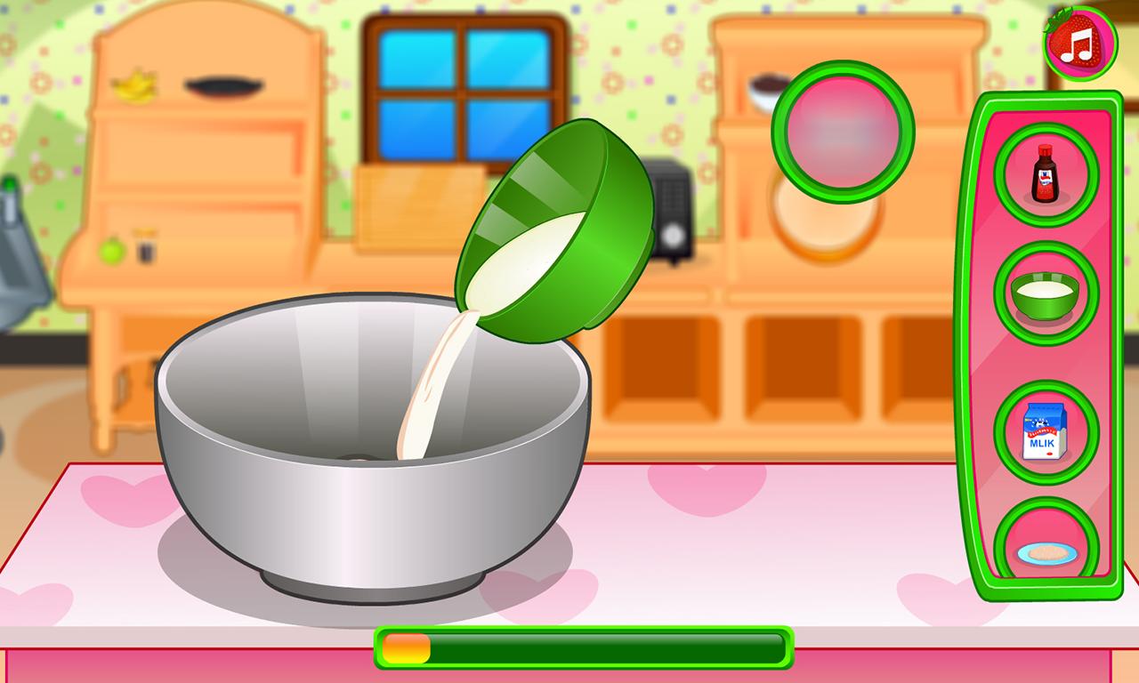 Strawberry Shortcake Cooking Cake Games