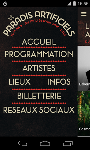 【免費音樂App】Les Paradis Artificiels 2015-APP點子