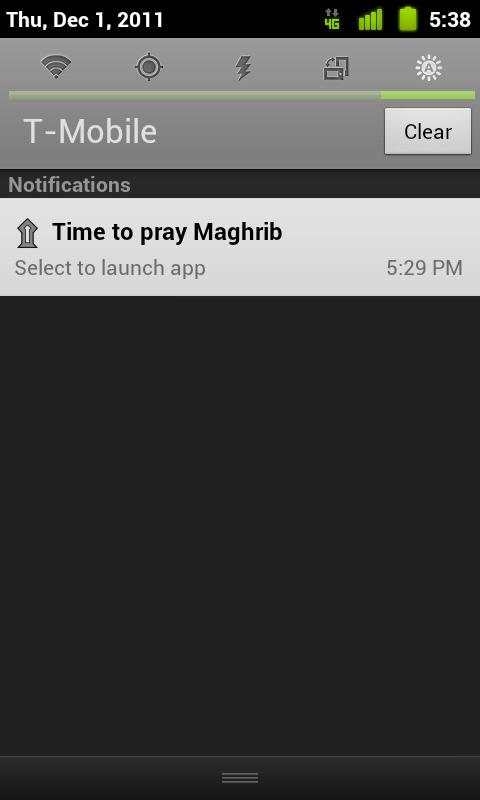 Muslim Prayer Times Free - screenshot