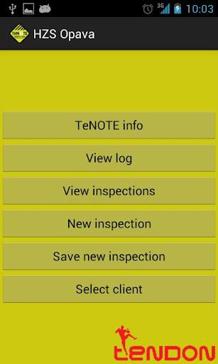 TeNOTE Inspection