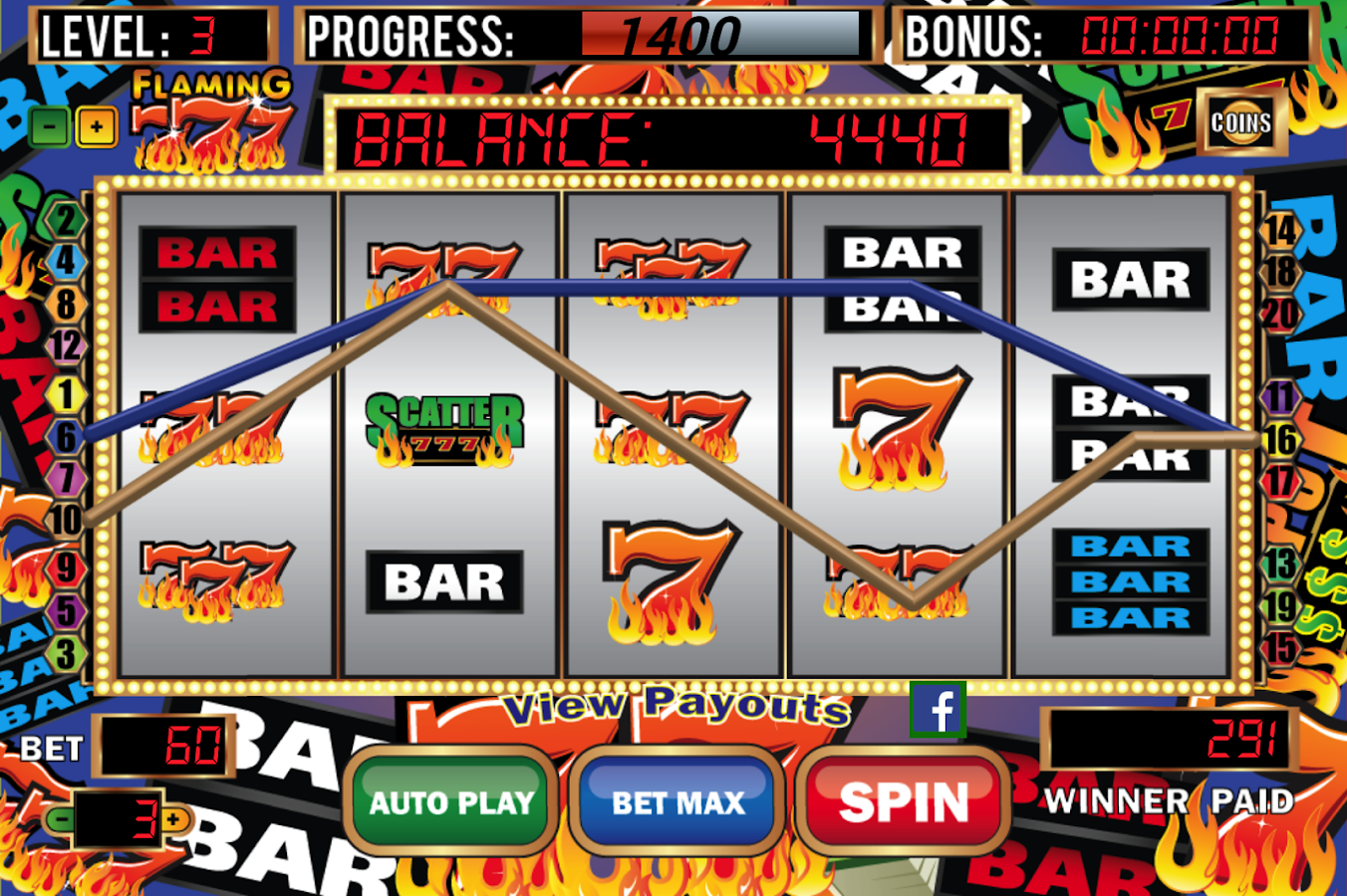 slot machines online free burn the sevens online