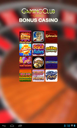 GamingClub Bonus Casino