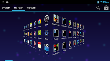 Screenshot of True Launcher