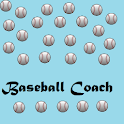 Baseball Coach logo