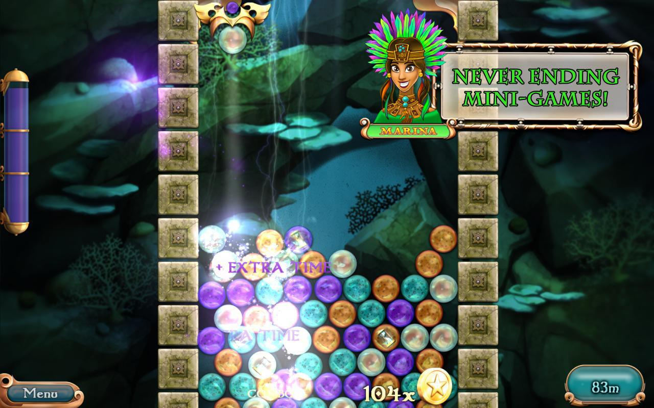 League of Mermaids: Match-3- screenshot