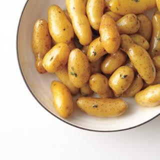 Glazed Fingerling Potatoes.