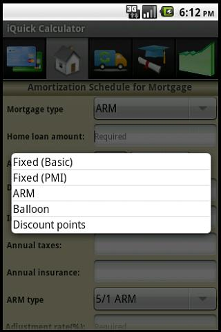 Financial Calculator Pro - screenshot