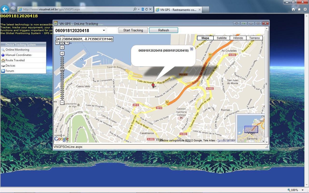 VN GPS Realtime Monitoring- screenshot