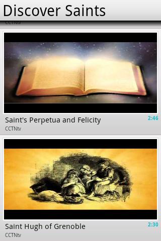 Discover Saints
