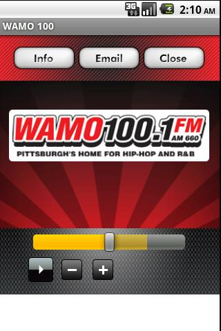 WAMO 100 - screenshot