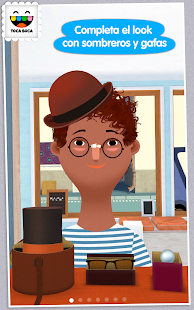 Toca Hair Salon 2: miniatura de captura de pantalla