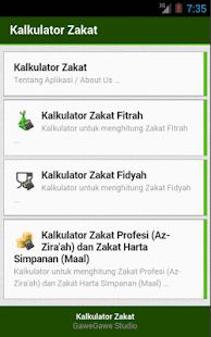 Kalkulator Zakat