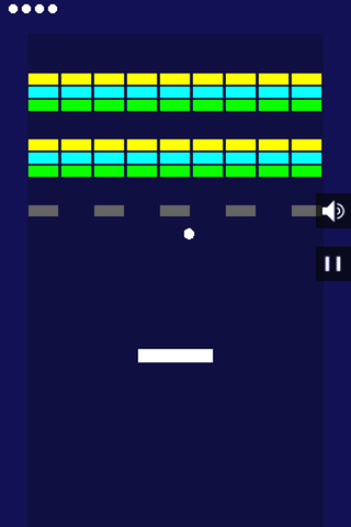 Simple Brick Breaker- screenshot