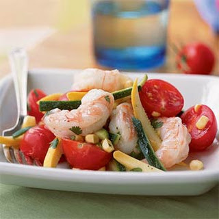 Summer Shrimp Salad with Cilantro