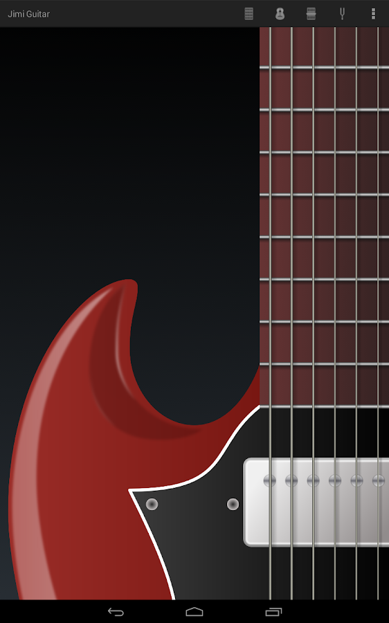 Jimi Guitar Lite- screenshot