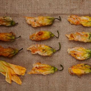 Stuffed Zucchini Blossoms.