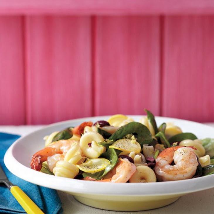 Summer Pasta Salad with Shrimp Recipe