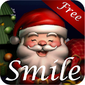 Smiling Santa 3D LiveWallpaper icon